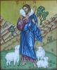 Ikona Chrystus Najlepszy Pasterz - symbol IB0330