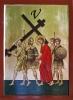 Stacja V Drogi Krzyżowej - Szymon Cyrenejczyk bierze krzyż