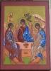 Trójca Święta wg. Rublowa - Archaniołowie w gościnie u Abrahama - Ikona IB0170