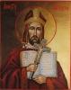 Ikona Święty Wojciech - symbol IB0451