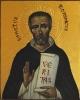 Ikona Święty Dominik - symbol IB0417