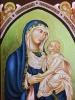 Ikona Matka Boska z Dolnej Bazyliki w Asyżu - symbol IB0019